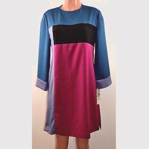 NWT Eliza J. Multicolored Missy Dress
